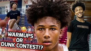 Mikey Williams GOES OFF In 4th Quarter & Almost ENDS A LIFE! 💀Turns Warmups To A DUNK CONTEST! 🔥