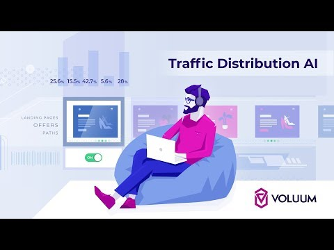 Voluum Automated Affiliate Tracking Software : Traffic Distribution AI [ Tutorial ]
