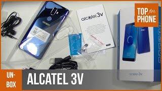 ALCATEL 3V - déballage par TopForPhone