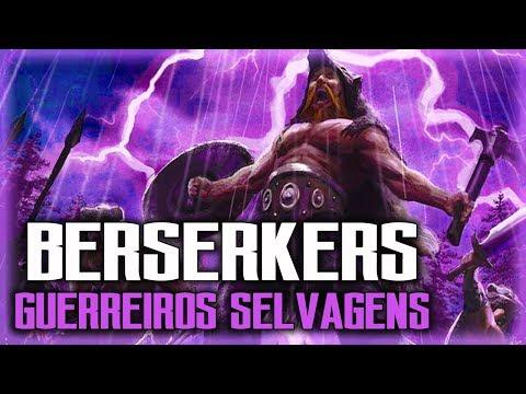 Berserkers os guerreiros selvagens - MITOLOGIA NÓRDICA