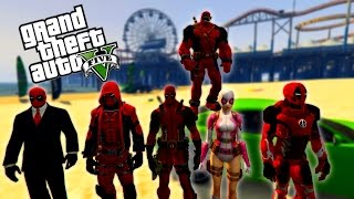 GTA 5 DEADPOOL'UN AİLESİ!