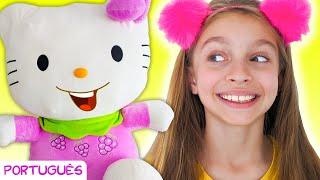 Três gatinhos   Canção Infantil   Música para crianças por Sunny Kids Songs