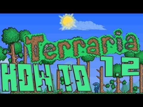 Terraria 1.2 How to Find and Use!: THE MARROW BOW!
