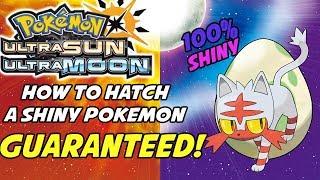 How to Hatch Guąranteed Shiny Pokemon in Pokemon Ultra Sun and Ultra Moon! Shiny Swap Method