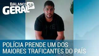 Polícia prende um dos maiores traficantes do país em mansão no Rio