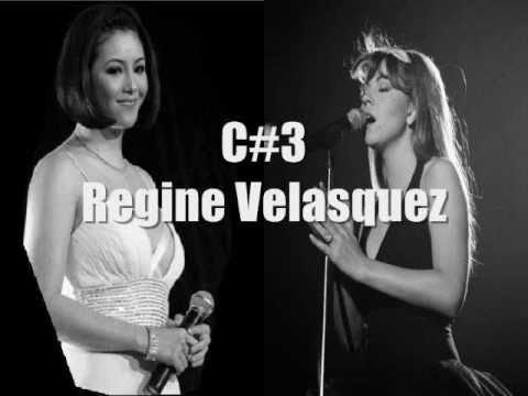 Mariah Carey vs Regine Velasquez: Live Vocal Battle (B2-C6)