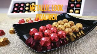 Diamant Pralinen | Metallic Look | Selbstgemachte Geschenkidee | Trüffel | Kikis Kitchen