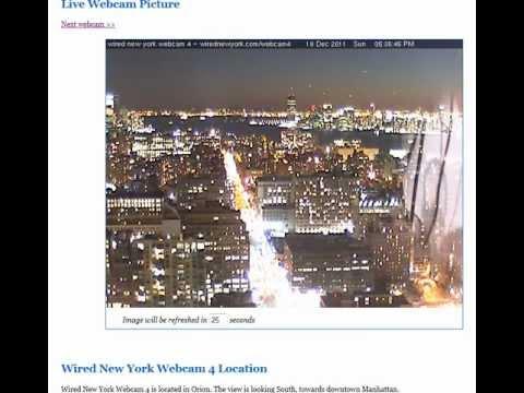 UFOs NYC Webcam 12/18/2011