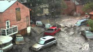 Manitou Springs Flood Aug. 9, 2013