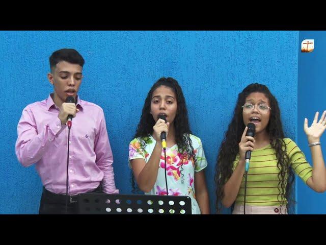 Seu Nome é Santo   Elias, Raquel e Geaniely   Tabernáculo da Fé Campinas/SP.