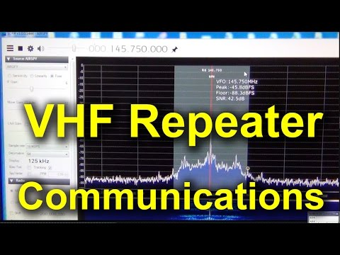 VHF Repeater FM Communications in Macedonia