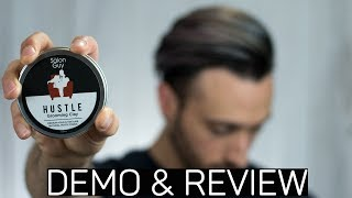 HUSTLE Grooming Clay by TheSalonGuy   DEMO & REVIEW