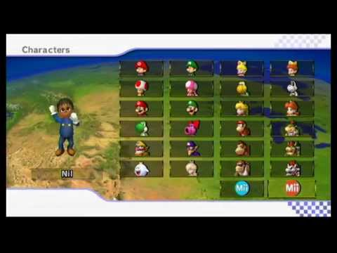 Mario Kart Wii Online Friend Game 4