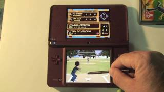Gameplay footage of Backyard Sports Sandlot Sluggers