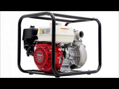 "Honda GX200 Powered Petrol Water Pump (2"" / 50mm) BW-265HR Montage"