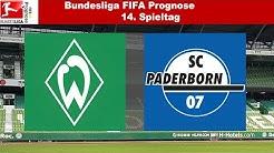 Bundesliga FIFA Prognose | 14.Spieltag | Werder Bremen - SC Paderborn 07