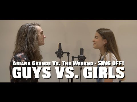 Ariana Grande VS. The Weeknd MASHUP - SING OFF (feat. Natali Rachel)