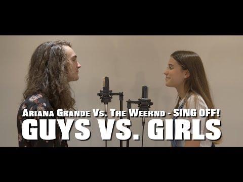 Ariana Grande VS. The Weeknd MASHUP - SING OFF (feat. Natali Rachel)