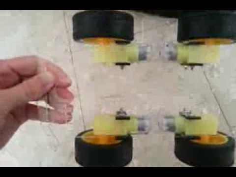 4wd - four wheel drive arduino smart car robot platform part 1