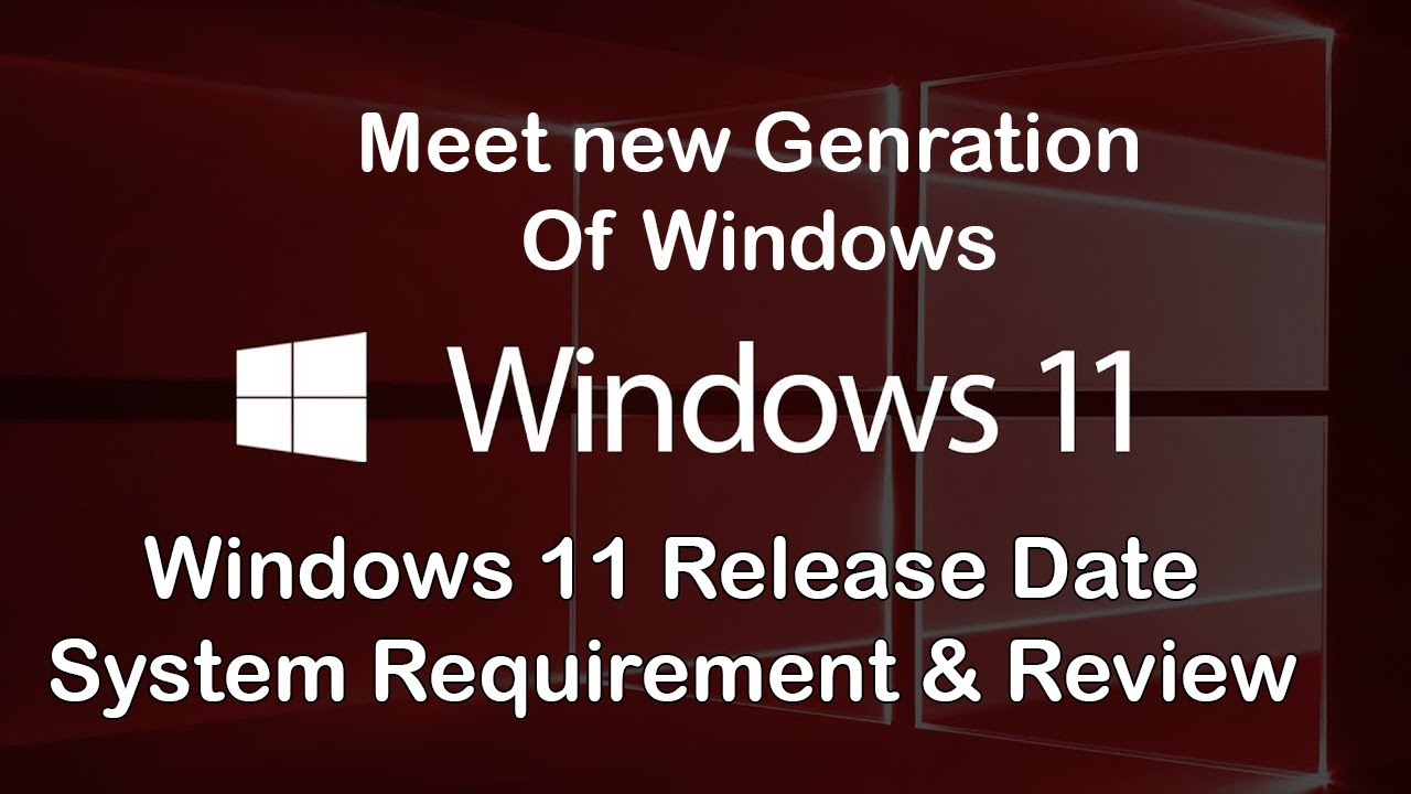 Windows 11 Release date,System Requirement & Review Short Trailer in 1080p By(Computer Lovers).
