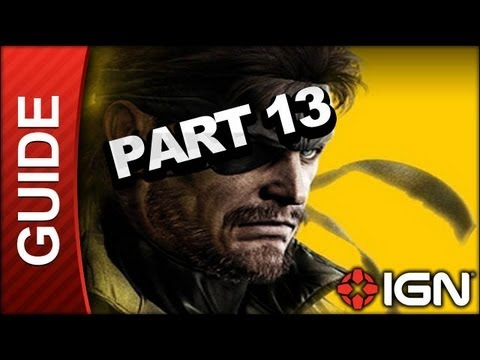 Metal Gear Solid Peace Walker HD - Rescuing Chico Cinematic - Gameplay