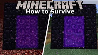 Linking Nether Portals! Minecraft 1.14 Survival (Guide)   Ep. 11