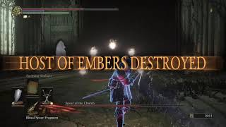 Spear of the Church commentary - Dark Souls 3