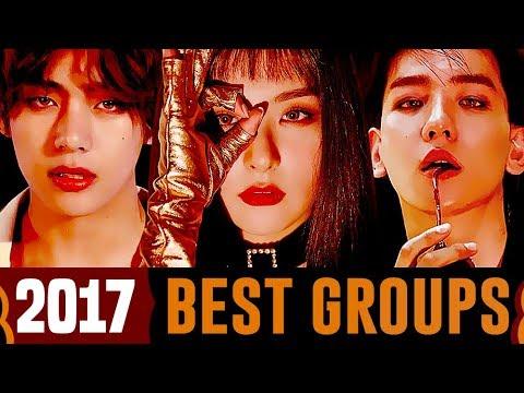 4 Best Kpop Groups Of 2017