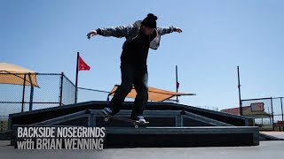 How to BS Nosegrind with Brian Wenning