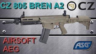 airsoft review n 95 cz 805 bren a1 a2 aeg asg king arms