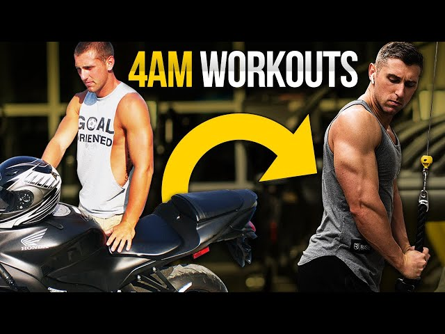 I worked out at 4 A.M. for FIVE YEARS (results, pros, and cons)