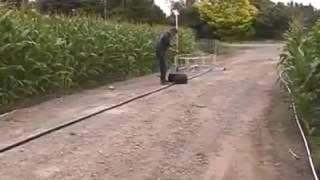 Sistem pengairan modern tanaman jagung