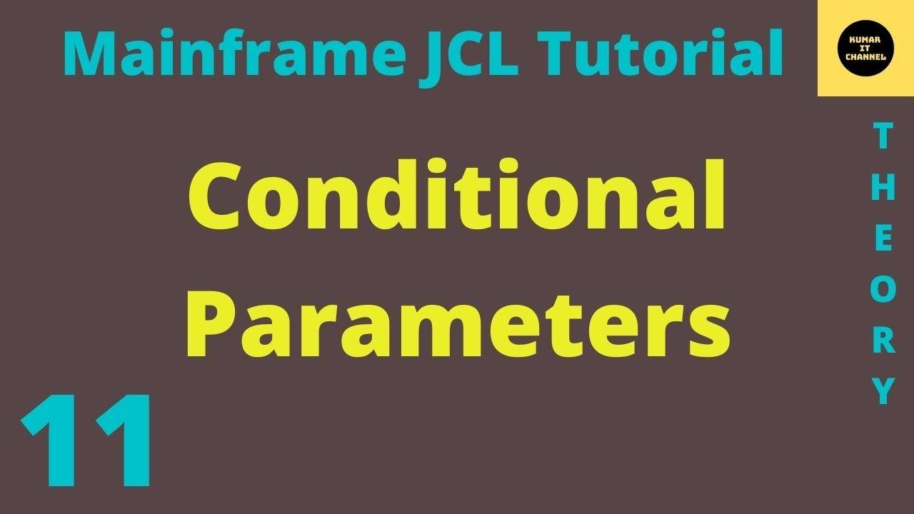 Mainframe JCL TUTORIAL 11