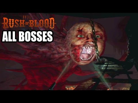 Until Dawn Rush of Blood ALL BOSSES