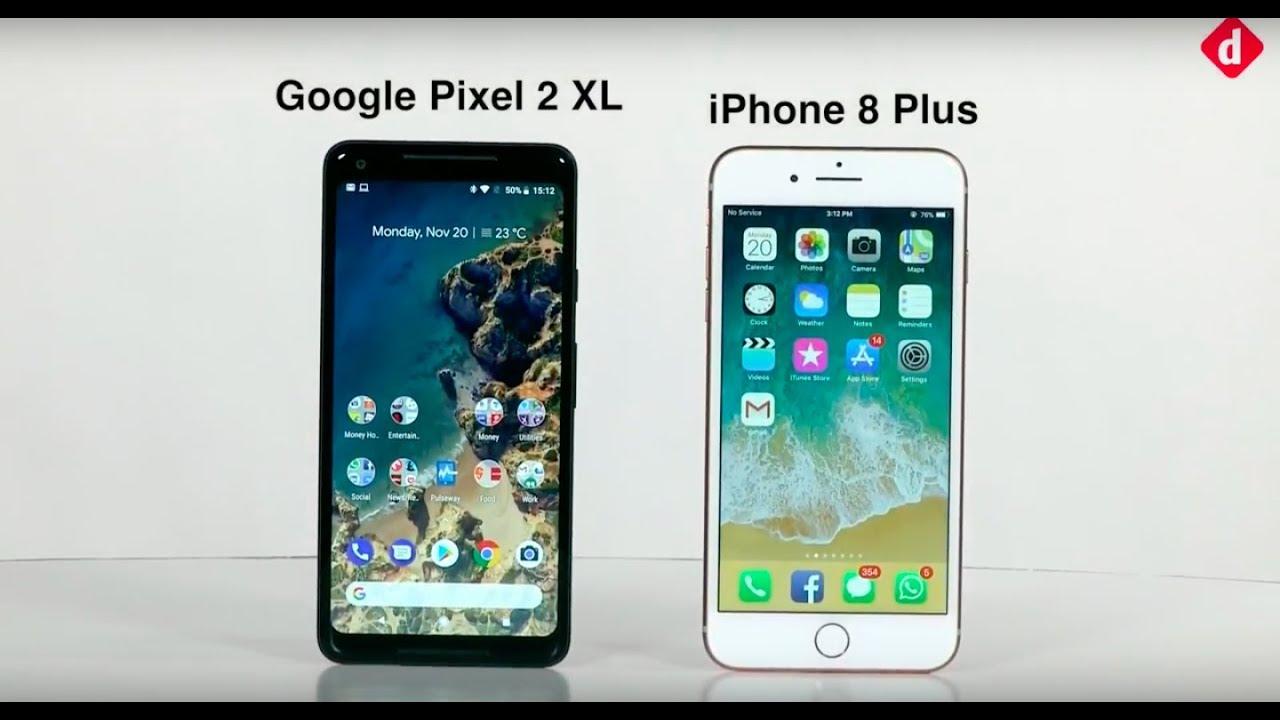 google pixel 2 xl vs apple iphone 8 plus deutsch