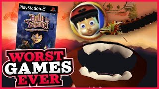 Worst Games Ever SPOOKY SPECIAL - Billy The Wizard: Rocket Broomstick Racing