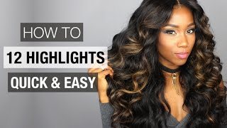 HOW TO HIGHLIGHT HAIR AT HOME FOR BEGINNERS