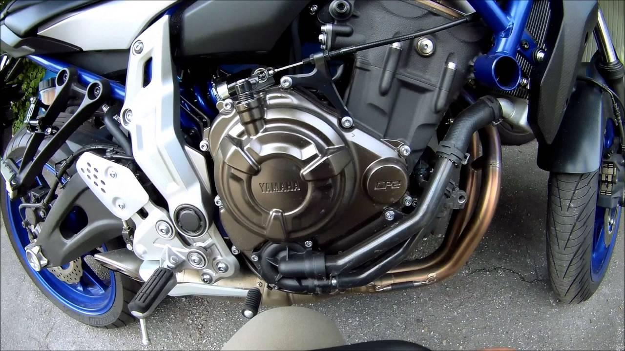 UNBOXING Montage Sturzbugel Yamaha MT 07 002