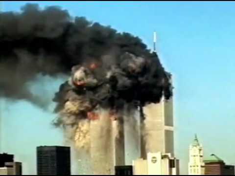 World Trade Center September 11 2001 مقطع نادر لاحداث سبتمر