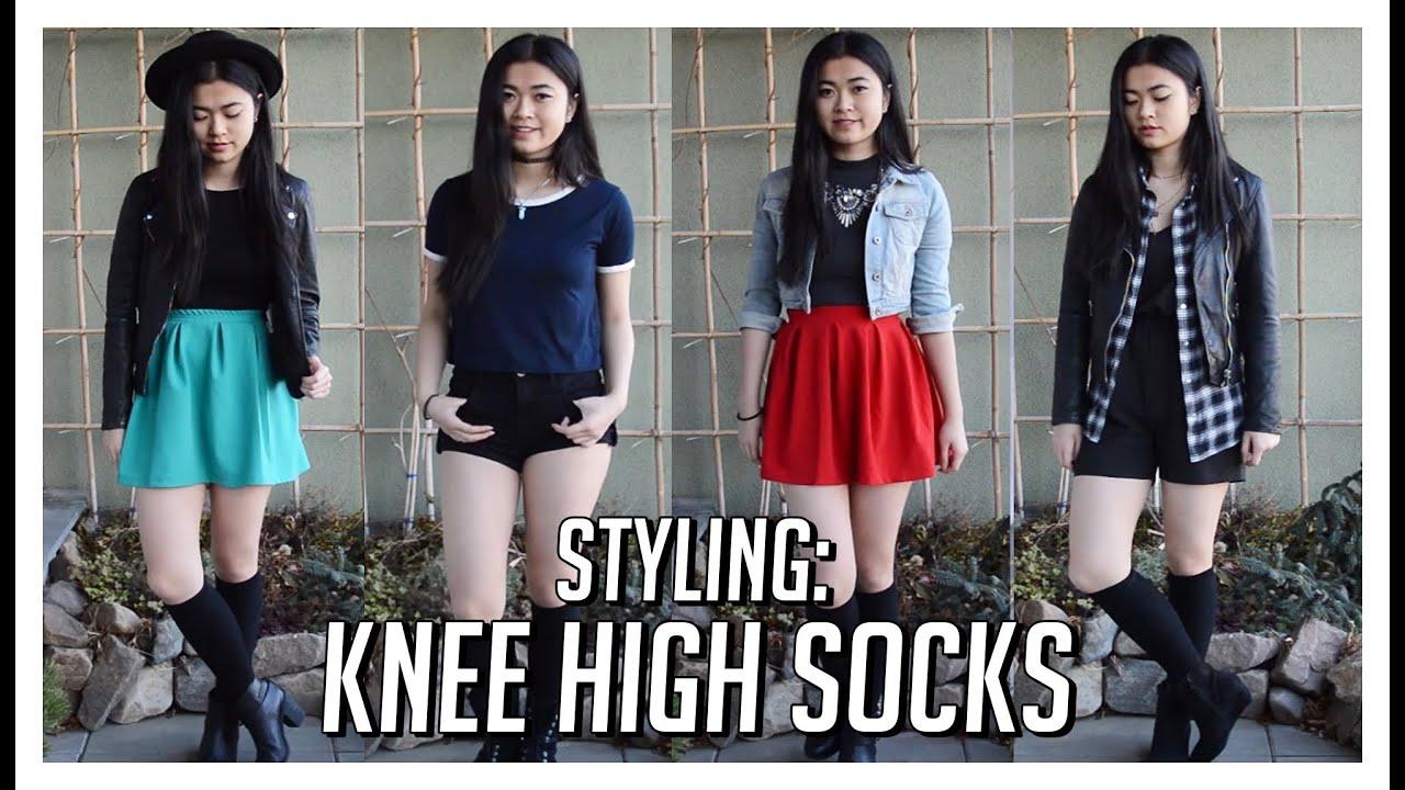 Thigh High Socks Outfit Ideas