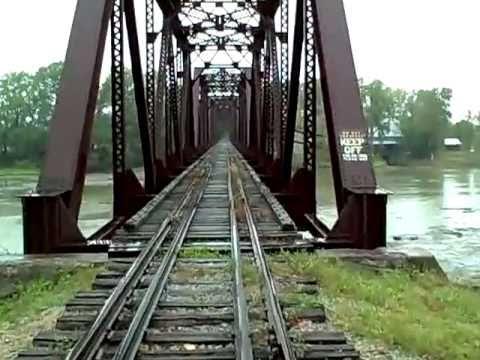 Toledo Lake Erie & Western Railroad In Grand Rapids, Ohio