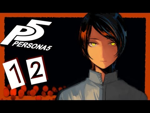 ART OF DECEIT -  Persona 5 - Part 12 (Hard, Blind, Japanese Sub, Lets play)