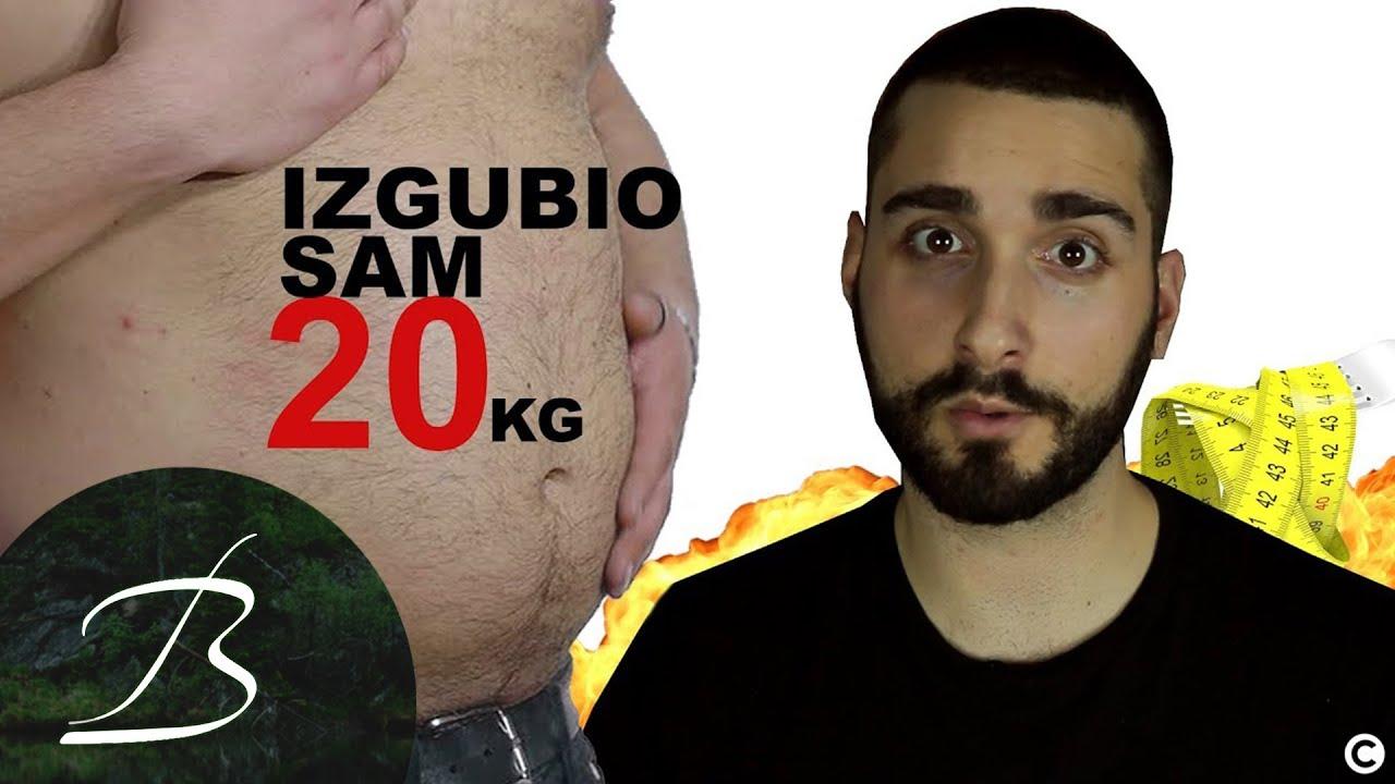 kako smrsati 20 kg za mesec dana