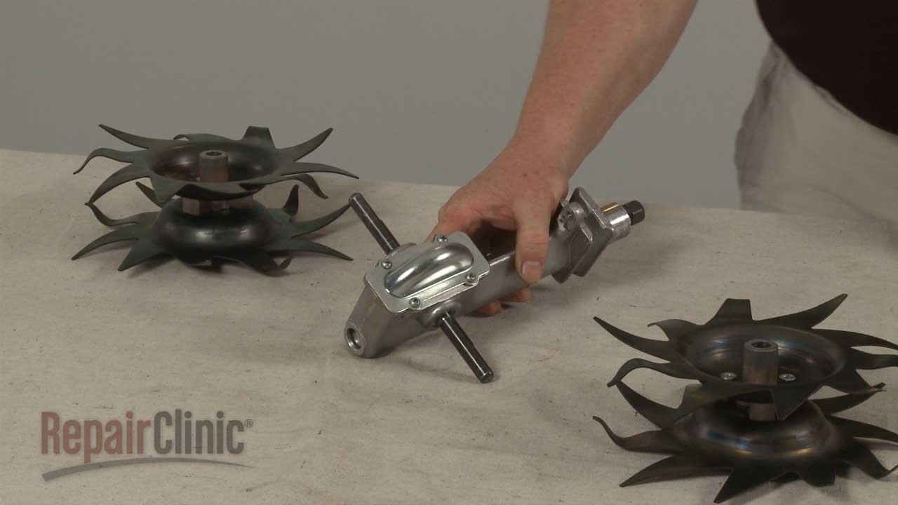 Mantis Tiller Transmission Assembly Replacement #400010