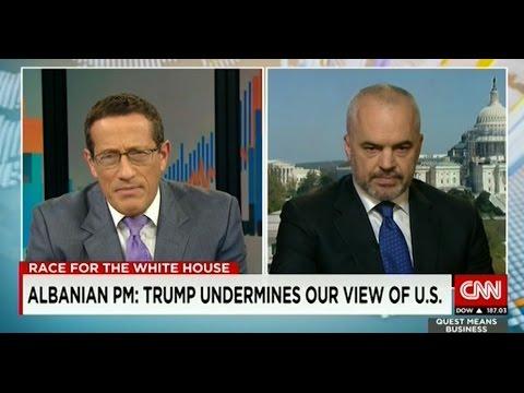 Intervistë e Kryeministrit Edi Rama për CNN