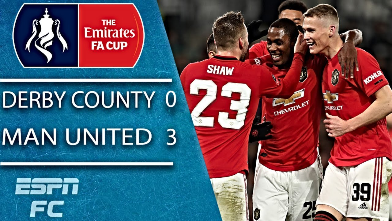 Derby County 0-3 Manchester United: FA Cup fifth round  as it ...