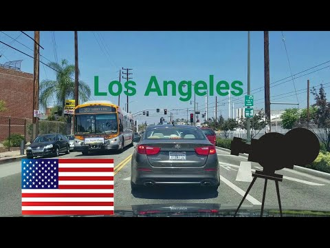 Los Angeles Driving Tour: Arts district, Boyle heights, Melrose Ave