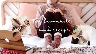 How to knit top down socks: my favourite recipe