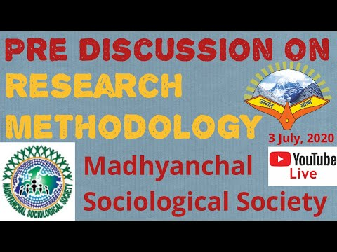#Pre Discussion on Research Methodology and Discussion with New Sociologist