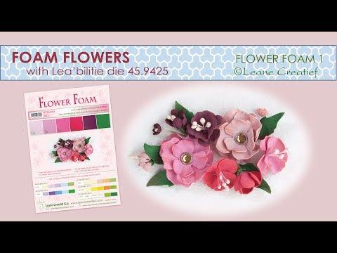 Foam Flowers with Leane Creatief